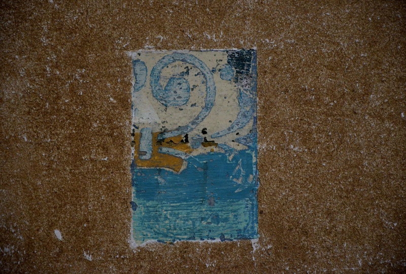 Detalle pintura Mural Iglesia Jesuitas Coahuila- INAH- 18072013