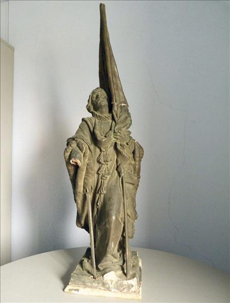 Escultura Rafael Casanova- EFE- 18072013