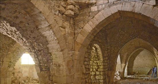 Hallan en Jerusalén un hospital de la época de las Cruzadas Hospital-Cruzadas-Jerusalen-3-EFE-05082013