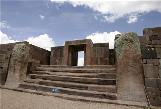 Tiahuanaco- Complej arquitectonico Bolivia- EFE- 23082013