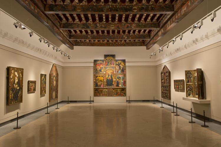 """Vista general de la sala """"Várez Fisa""""_Archivo Museo del Prado"""