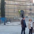El Ayuntamiento de Lorca consolida la fachada de la antigua iglesia del convento de la Merced tras el seísmo
