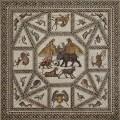 El Mosaico romano de Lod, del siglo III, se muestra en Miami