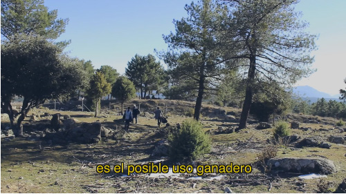 VÍDEO: Prospección arqueológica en un yacimiento de Navas del Marqués