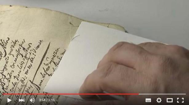VÍDEO: El libro de difuntos de la Iglesia de San Sebastián, la partida de enterramiento de Cervantes