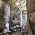 Gigantescos murales sobre el vino