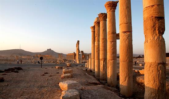 La destrucción del patrimonio de Palmira en un supuesto vídeo del EI