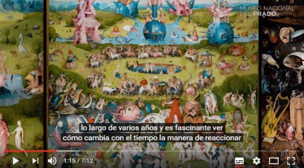 """VÍDEO: """"Crimenes y castigos. Los infiernos del Bosco"""" por Larry Silver"""