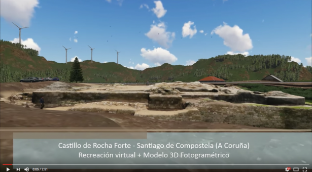 VIDEO: animación 3D Castillo de Rocha Forte