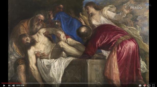 VIDEO: Obra comentada: Entierro de Cristo, de Tiziano