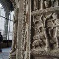 El portal románico del Monasterio de Ripoll recupera su esplendor