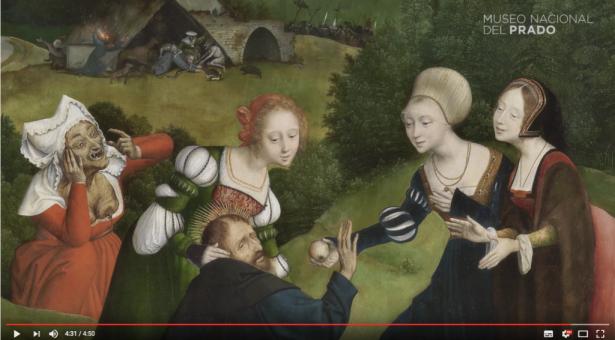 VIDEO: Obra comentada: Las tentaciones de San Antonio Abad (1520 – 1524)