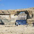 La Ventana Azul de Malta se derrumba por un fuerte temporal