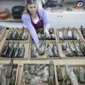 Cientos de botellas de alcohol de la I Guerra Mundial halladas en una excavación