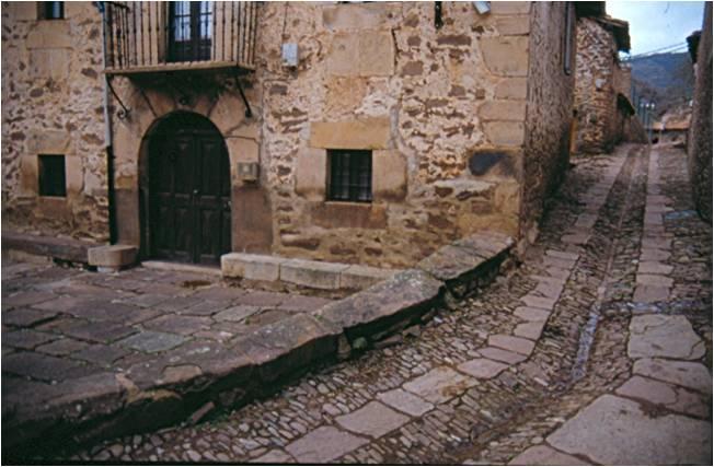 Aspecto de Viniegra de Arriba (La Rioja)