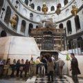 Finalizan las obras de restauración del Santo Sepulcro