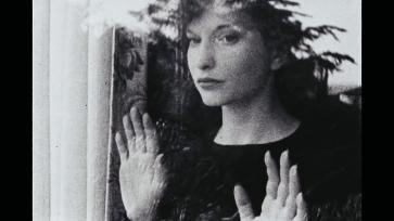 Fotograma de una película de Maya Deren.