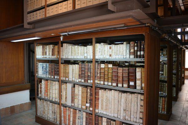 Imagen del Archivo de la Catedral de Segovia, que participa en la exposición.