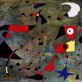 """Vendida por 27 millones de euros """"Femme et oiseaux"""", una de las constelaciones de Miró"""