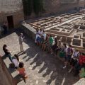Las huertas del Generalife y los Jardines de la Alhambra continúan con el ciclo de visitas guiadas por especialistas
