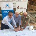 """La Obra Social """"la Caixa"""" y la Fundación Atapuerca renuevan el convenio para  continuar con el programa de formación de científicos divulgadores de los yacimientos de Atapuerca"""