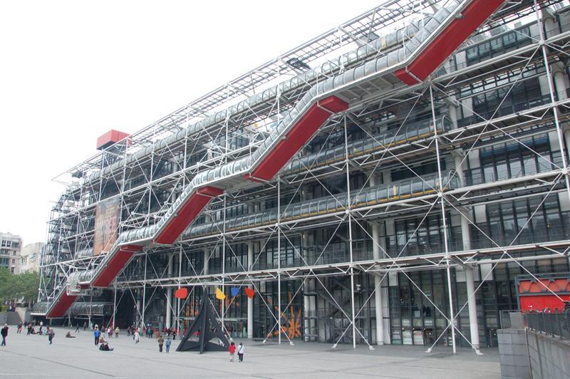 Centro Nacional de Arte y Cultura Georges Pompidou de París.