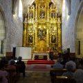 La Junta restaura el retablo mayor de la iglesia parroquial de Poza de la Sal