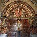 Las técnicas pictóricas de la portada norte de la catedral de León al descubierto