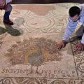 Restauran un mosaico de la época paleocristiana en la catedral de Florencia