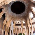 La Alhambra culmina la restauración de un templete único del Patio de los Leones