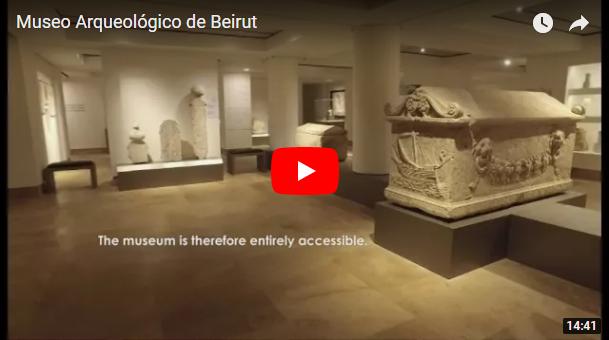 VÍDEO: Museo Nacional de Beirut