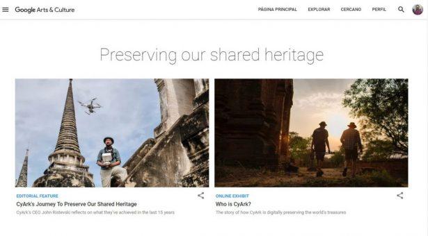 VÍDEO: Preservando el Patrimonio Mundial con CyArk en #GoogleArts