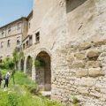 Aparece en una casa de Girona un nuevo tramo de la muralla