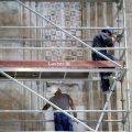 Descubren unas pinturas de la Alta Edad Media en la iglesia de San Pablo de Valladolid