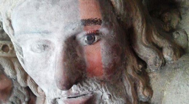 VÍDEO: El Pórtico de la Gloria desvela su policromía original