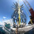 El nuevo museo sumergido en Florida convierte las esculturas en arrecife