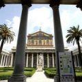 La basílica romana de San Pablo desvela los restos de su pasado amurallado
