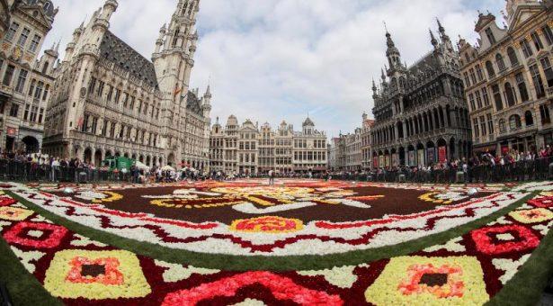 México y Bélgica, unidas por su tradición floral en Bruselas