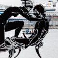 Esculturas de Antoni Miró llenan de erotismo y polémica la Marina de Valencia