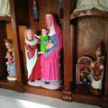 """Pintan en Asturias tres tallas del siglo XV """"a lo eccehomo"""""""
