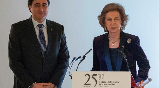 La reina Sofía recoge en Cuenca el Premio Patrimonio 2018