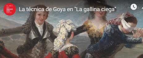 """VÍDEO: La técnica de Goya en """"La gallina cienga"""""""