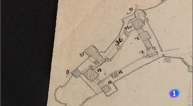 VÍDEO: Un coleccionista encuentra unos planos de la Alhambra del S.XIX