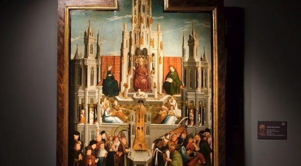 VÍDEO:La Fuente de la Gracia, copia del original de van Eyck (Taller)