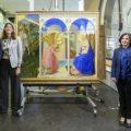 """VÍDEO: Restauración de """"La Anunciación"""" de Fra Angelico"""