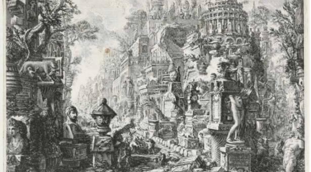 VÍDEO-NOTICIA: Giovanni Battista Piranesi, el poeta de la ruina, en la Biblioteca Nacional