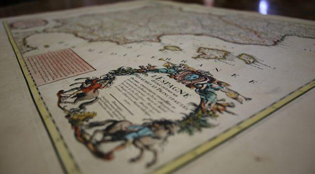 La BNE adquiere el primer mapa de postas de España