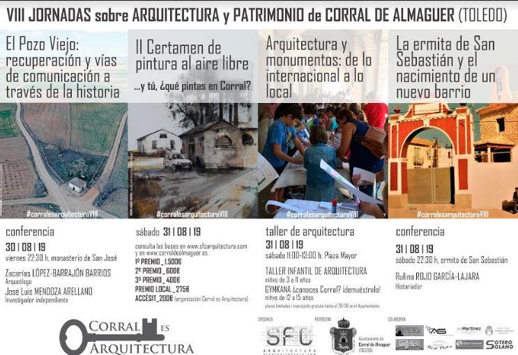 Cartel Jornadas de Patrimonio Corral de Almaguer