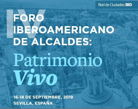Programa Foro Alcaldes Patrimonio Vivo