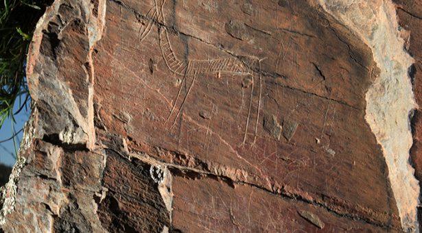 Arte Paleolítico en Arroyo de las Almas